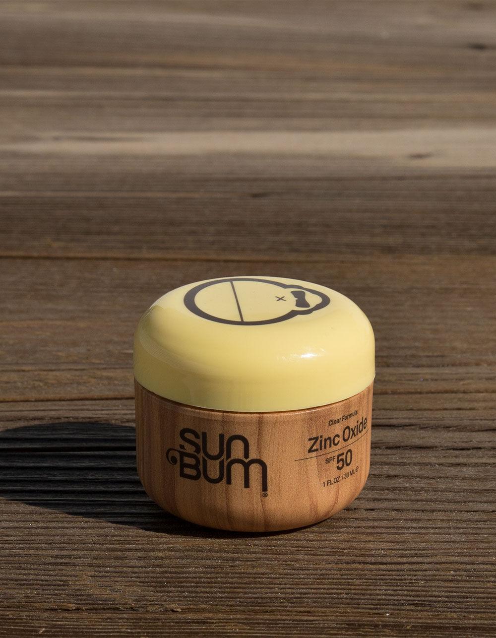 SUN BUM SPF 50 Clear Zinc Oxide (1oz)