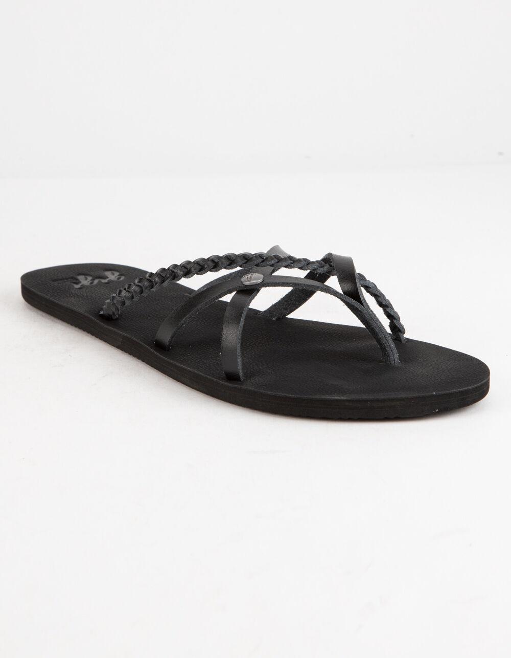 GIGI Criss Cross Black Sandals