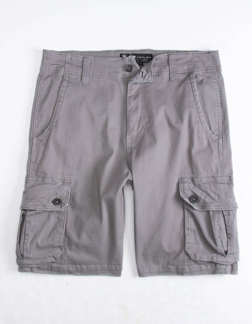 Image of BROOKLYN CLOTH CHARCOAL CARGO SHORTS