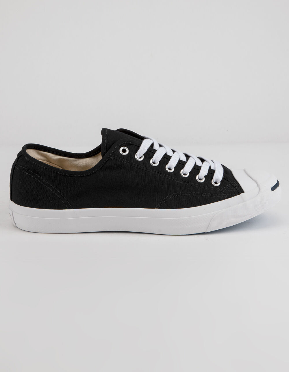 Image of CONVERSE JACK PURCELL CP OX BLACK & WHITE LOW TOP SHOES