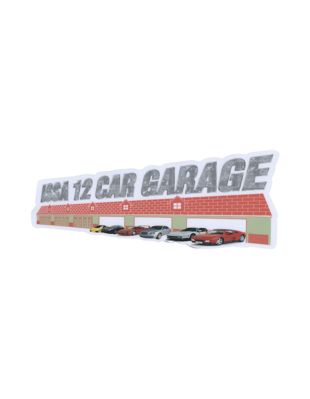 Image of CASUAL INDUSTREES 12 CAR GARAGE STICKER