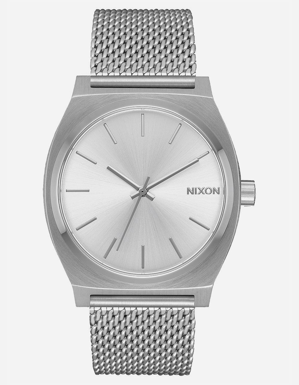 NIXON Time Teller Milanese All Silver Watch