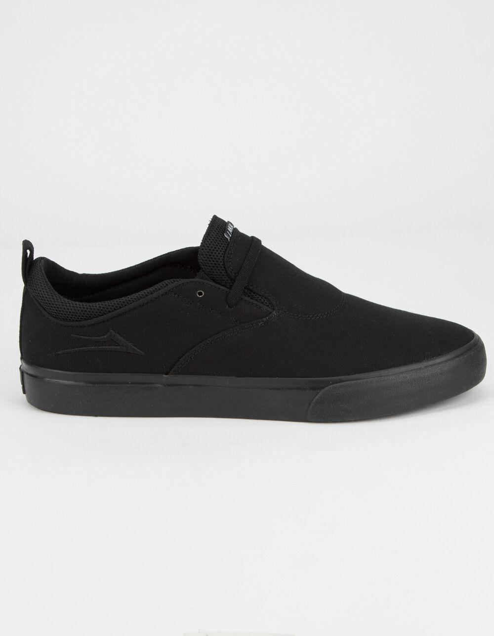 LAKAI Riley Hawk 2 Black Canvas Shoes