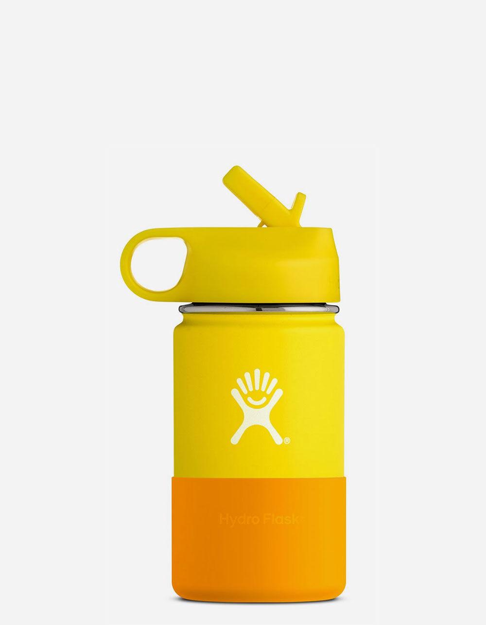 HYDRO FLASK Lemon 12oz Kids Wide Mouth Water Bottle