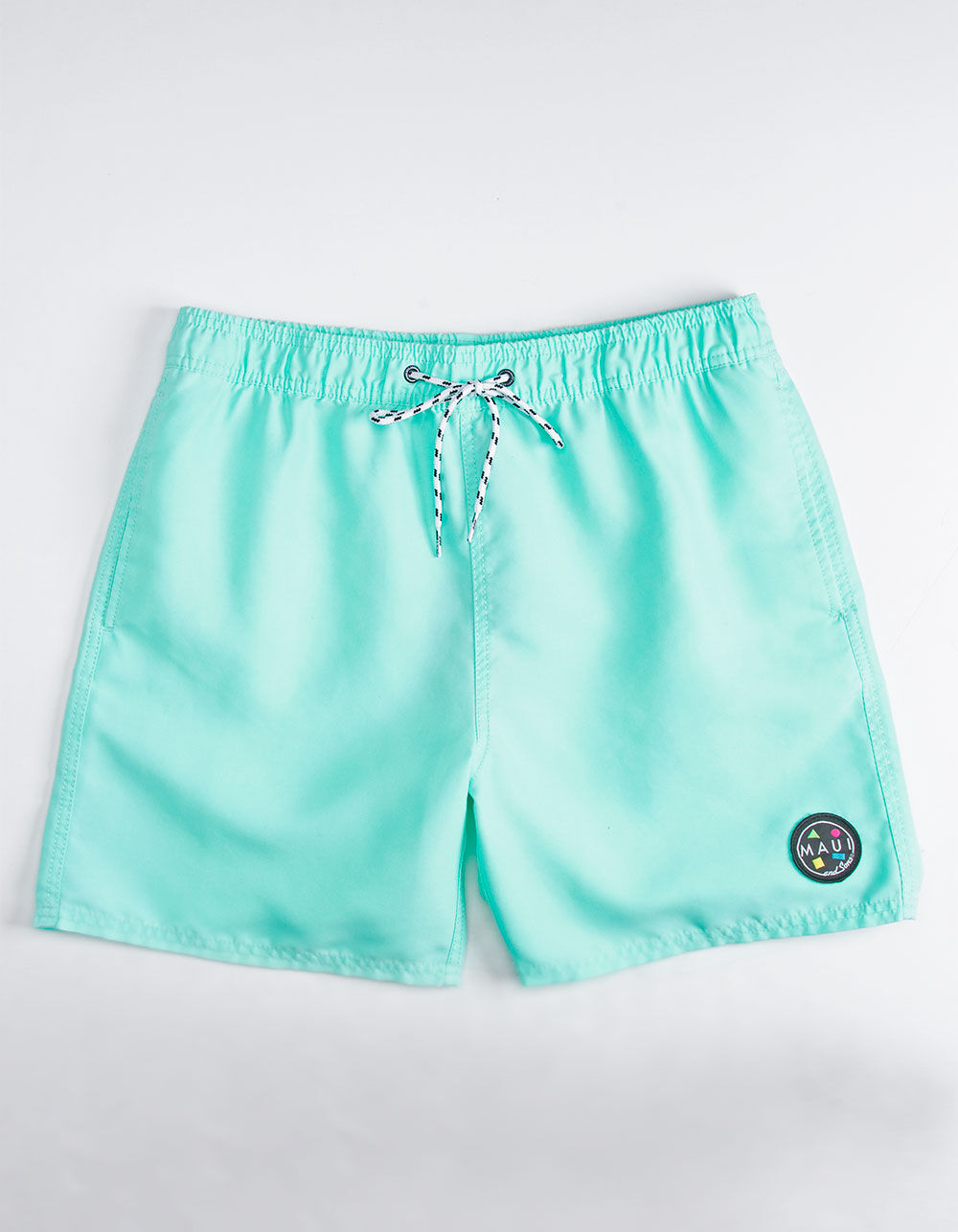 MAUI AND SONS Party On Mint Volley Shorts