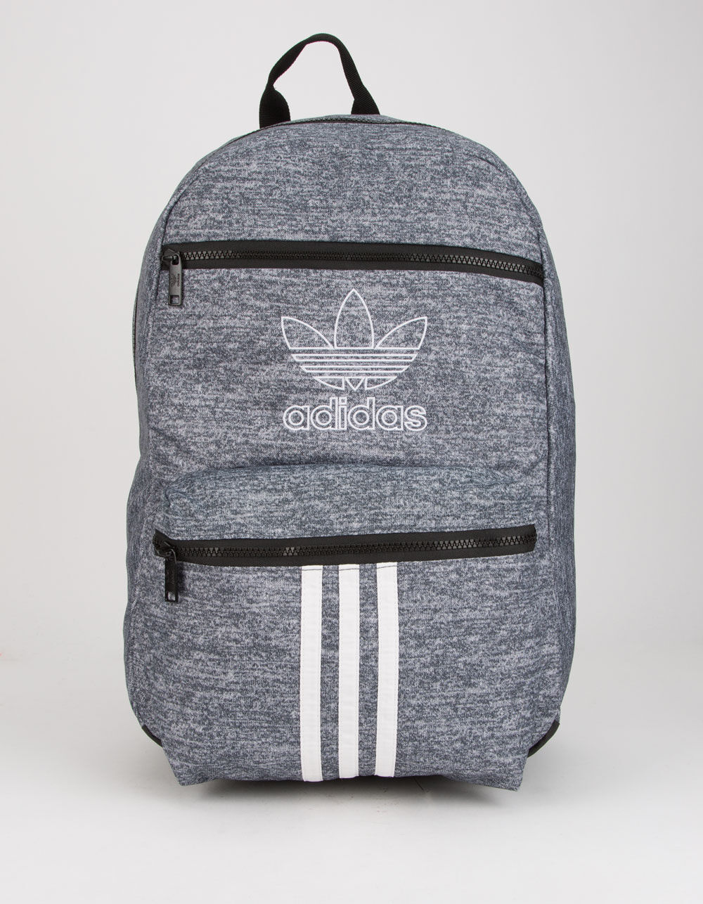 ADIDAS National 3-Stripes Gray Backpack