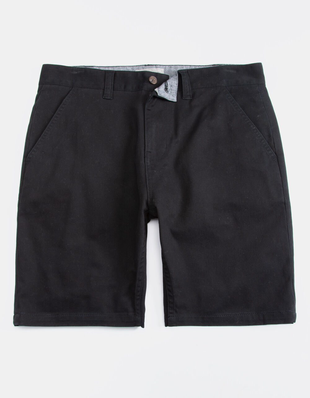 CHARLES AND A HALF Lincoln Stretch Black Shorts