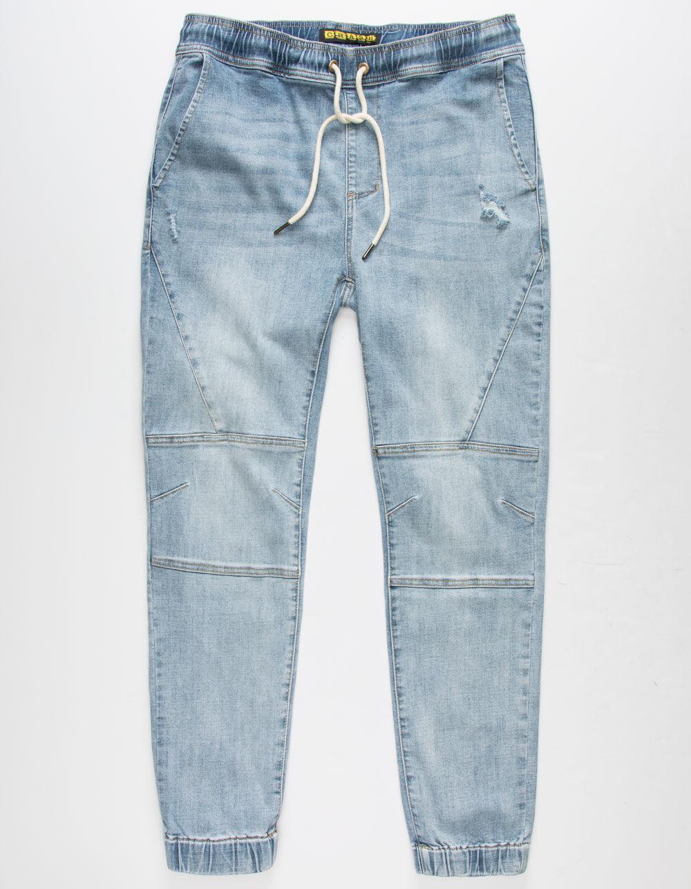 Image of CRASH Denim Jogger Pants