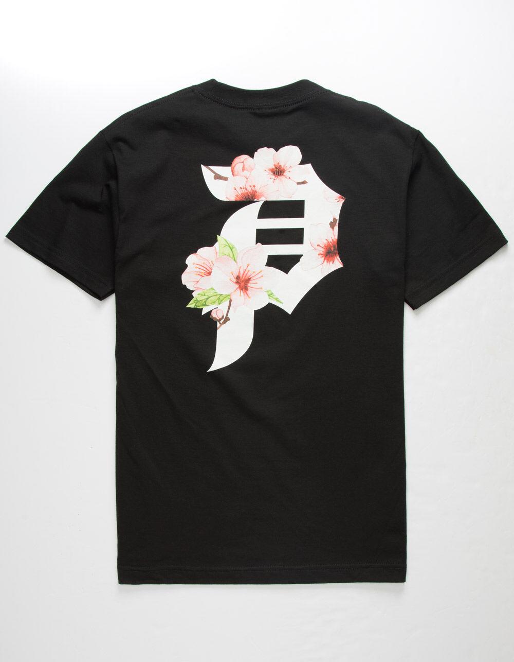 PRIMITIVE Dirty P Cherry Blossom Black T-Shirt