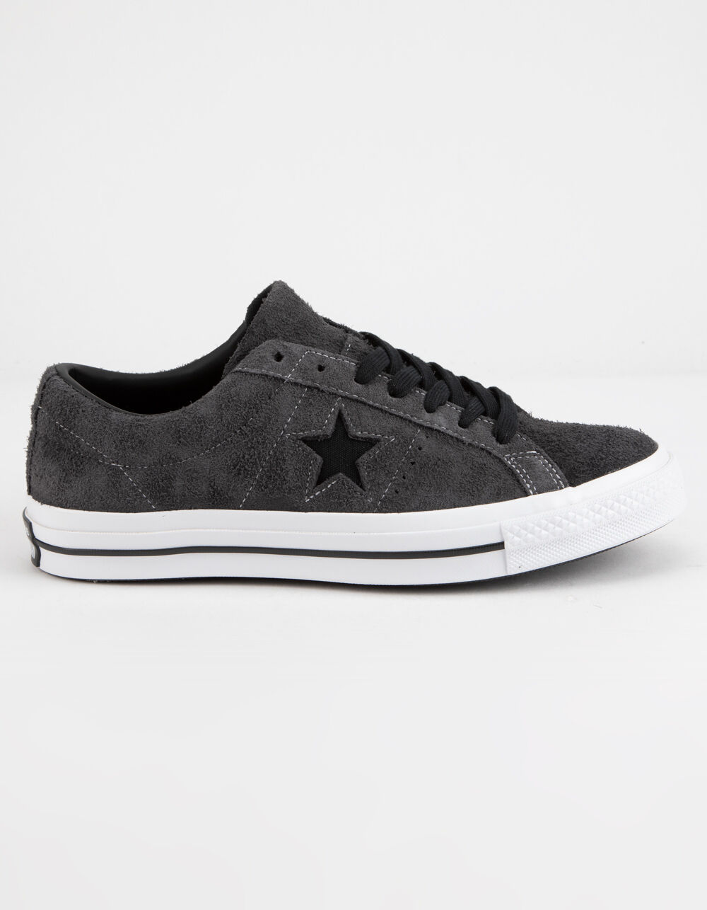 CONVERSE ONE STAR OX ALMOST BLACK SHOES