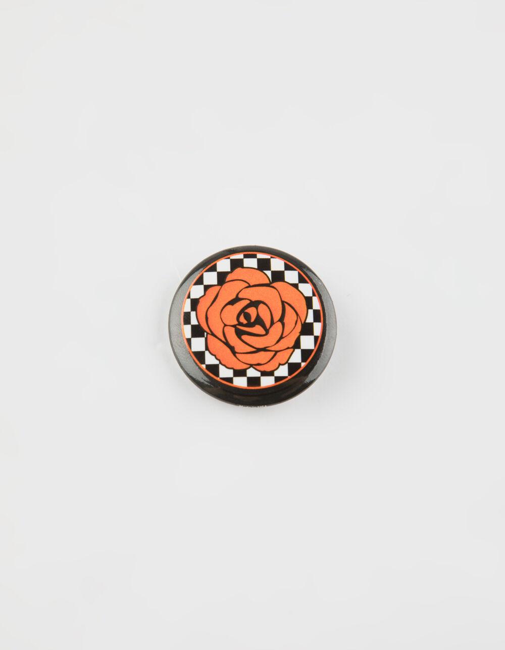 Image of ROSE CHECKER PIN