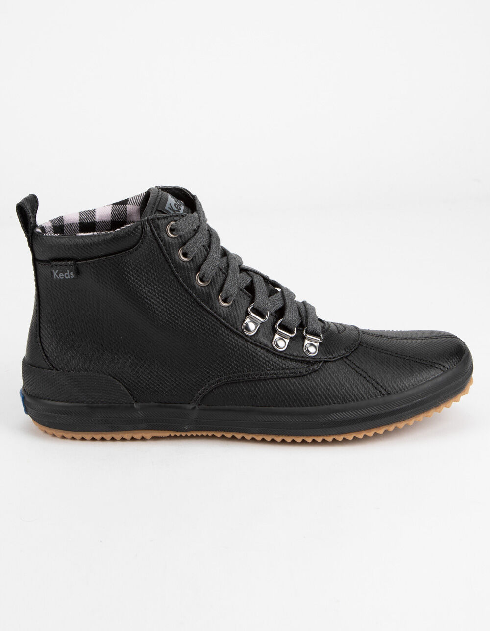 KEDS Scout Water-Resistant Black Boots
