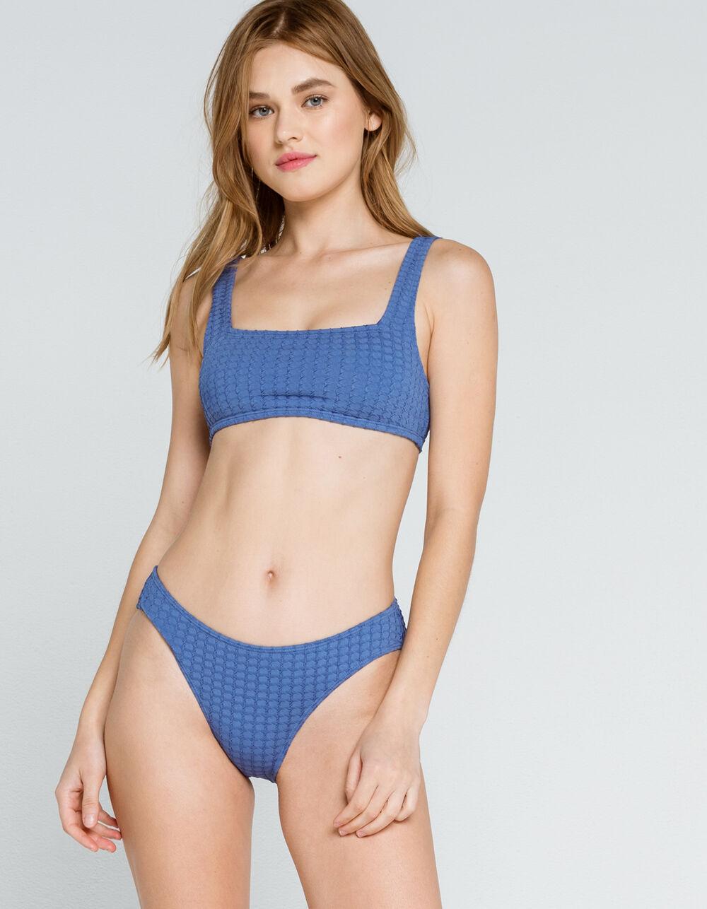 FULL TILT Textured Bikini Bottoms