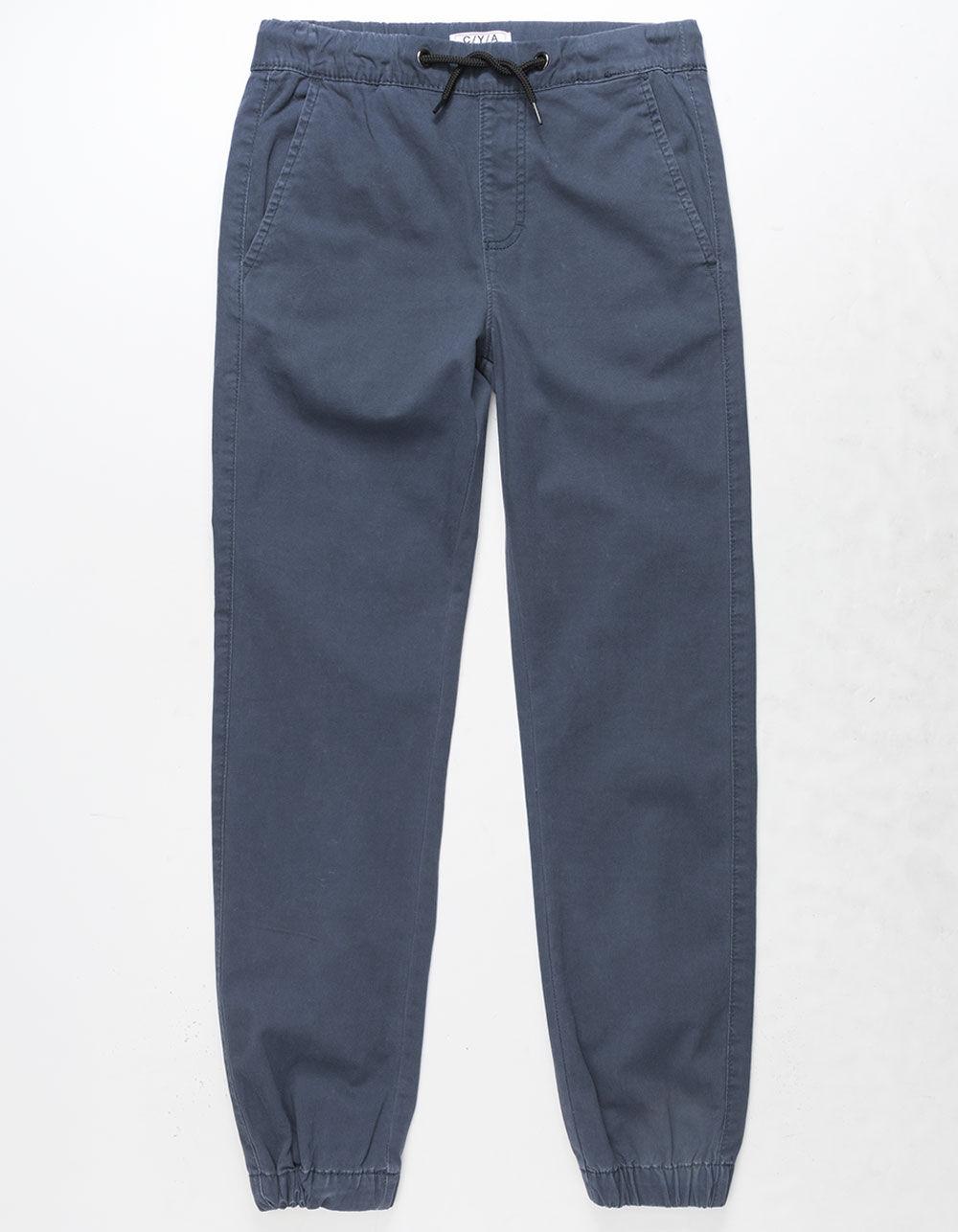 Image of CYA CHAD NAVY BOYS JOGGER PANTS