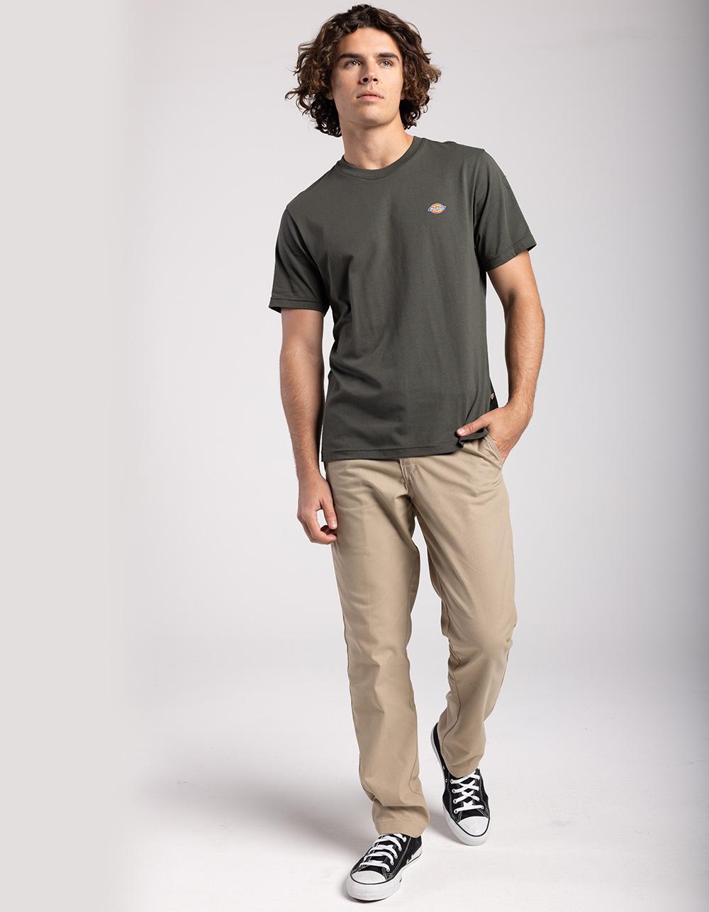 Image of DICKIES 850 SLIM TAPER FLEX KHAKI PANTS