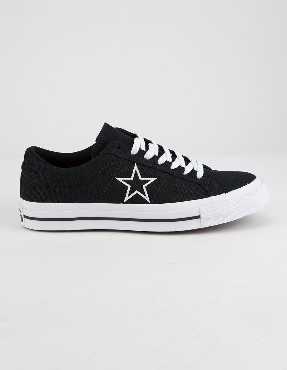 CONVERSE One Star Ox Black & White Low Top Shoes