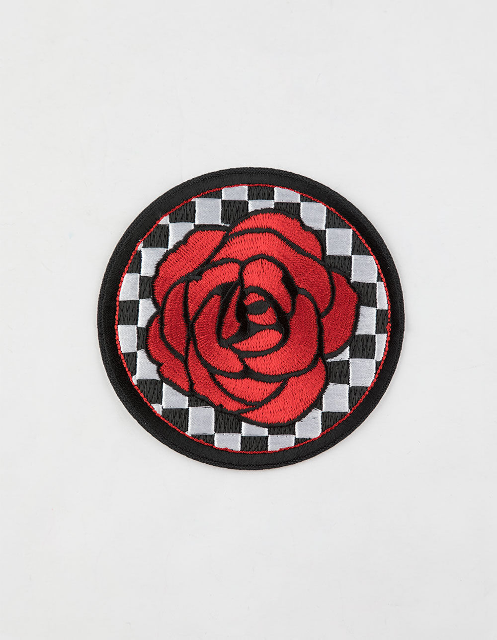 Image of ROSE CHECKER PATCH