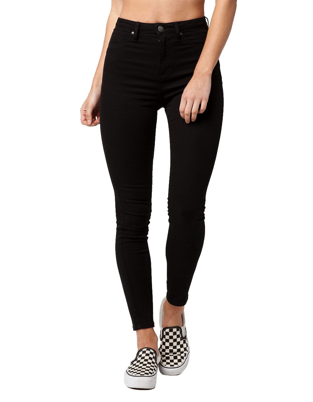 RSQ L.A. SUPER HIGH WAISTED SKINNY JEANS