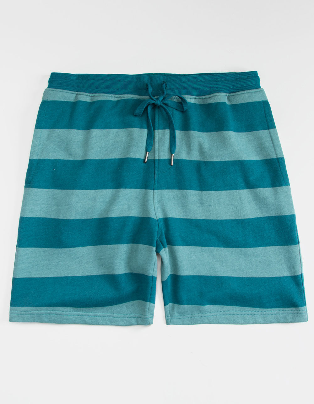 CYA Denver Stripe Blue Sweat Shorts