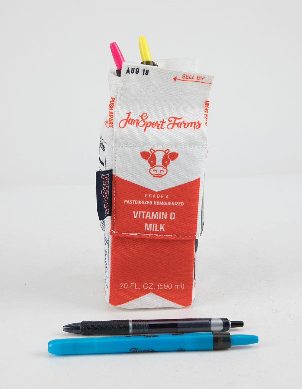 JANSPORT Expandable Milk Carton Pouch