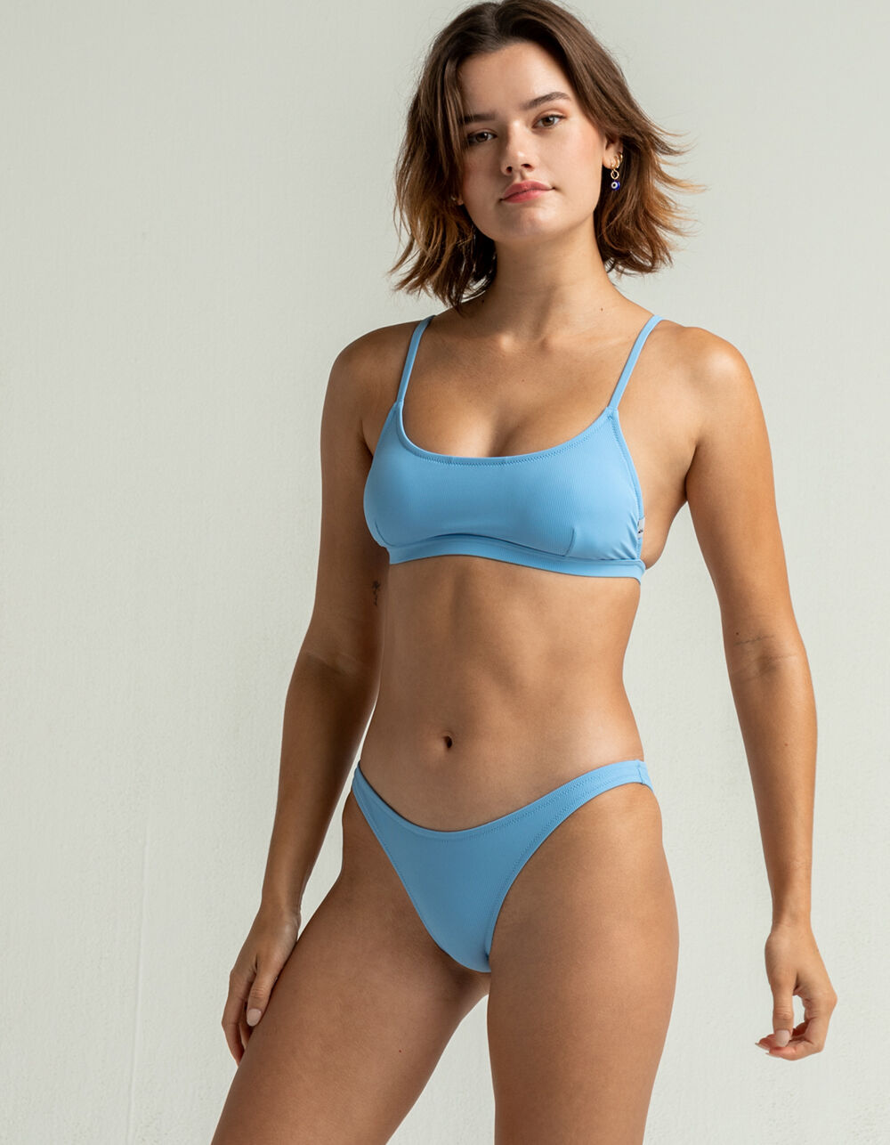 QUIKSILVER Rib Cheeky Bikini Bottom