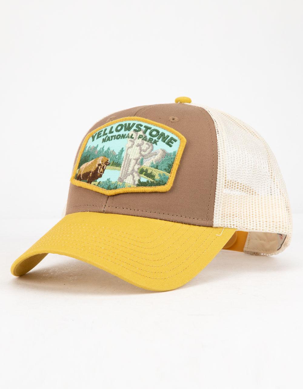 Image of AMERICAN NEEDLE YELLOWSTONE TRUCKER HAT