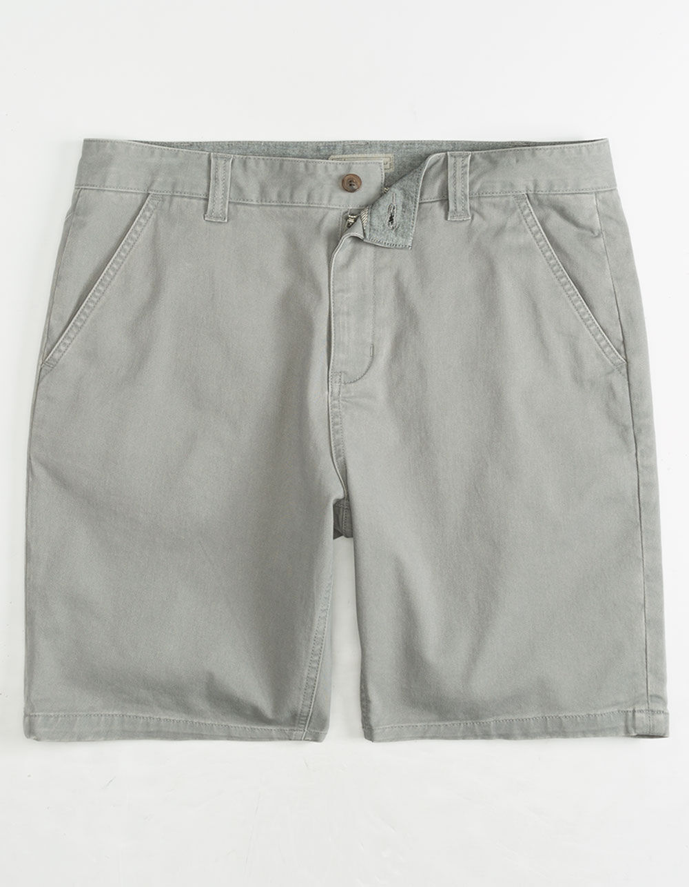 CHARLES AND A HALF Lincoln Stretch Grey Shorts