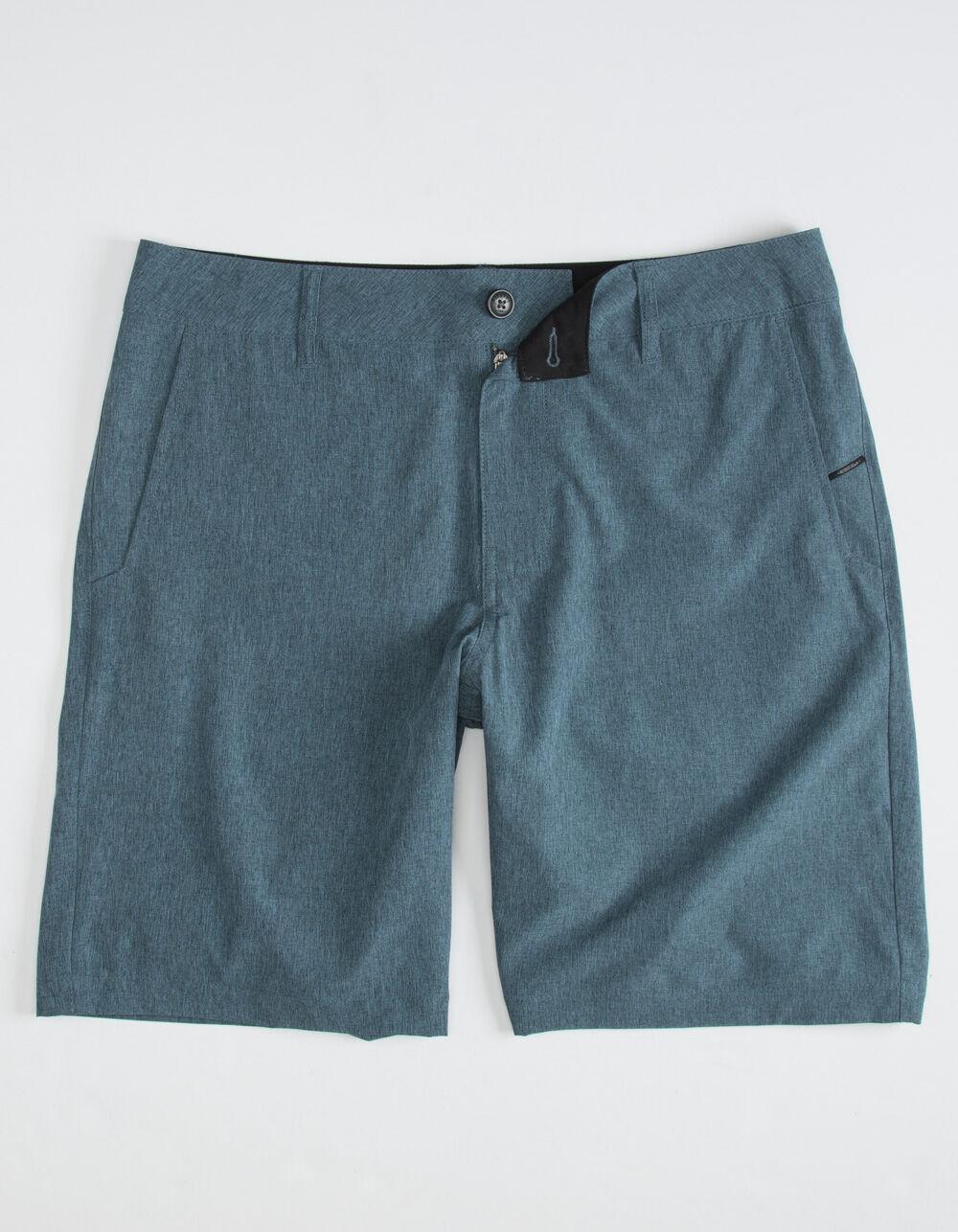 NITROUS BLACK Format Heather Blue Hybrid Shorts