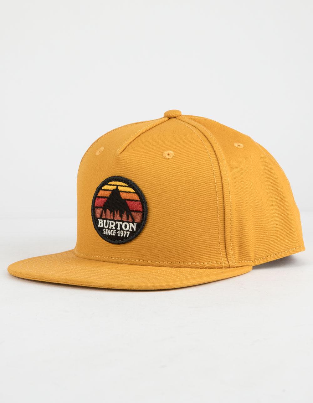 Image of BURTON UNDERHILL YELLOW SNAPBACK HAT
