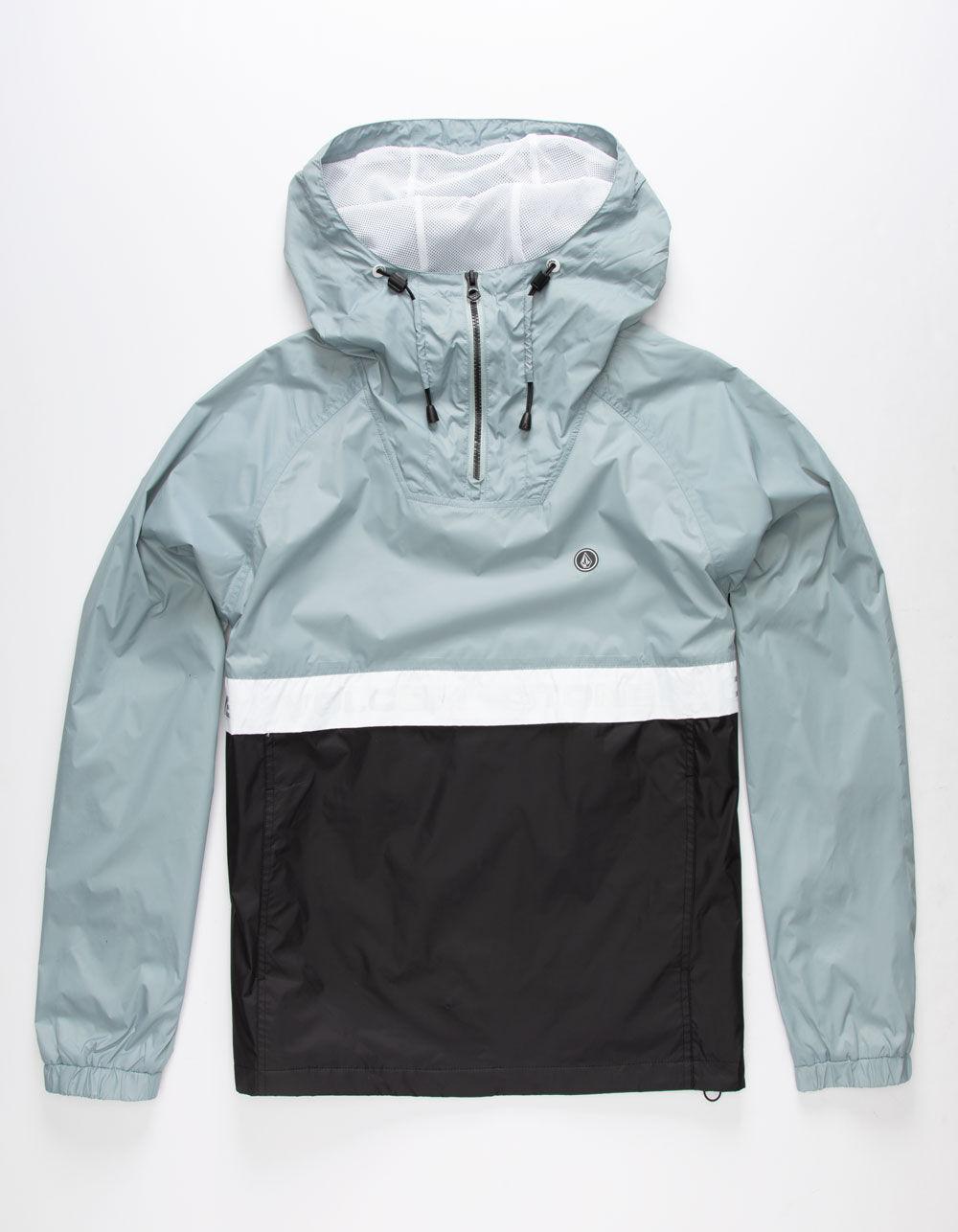 VOLCOM Fezzes Cloud Blue Windbreaker Jacket