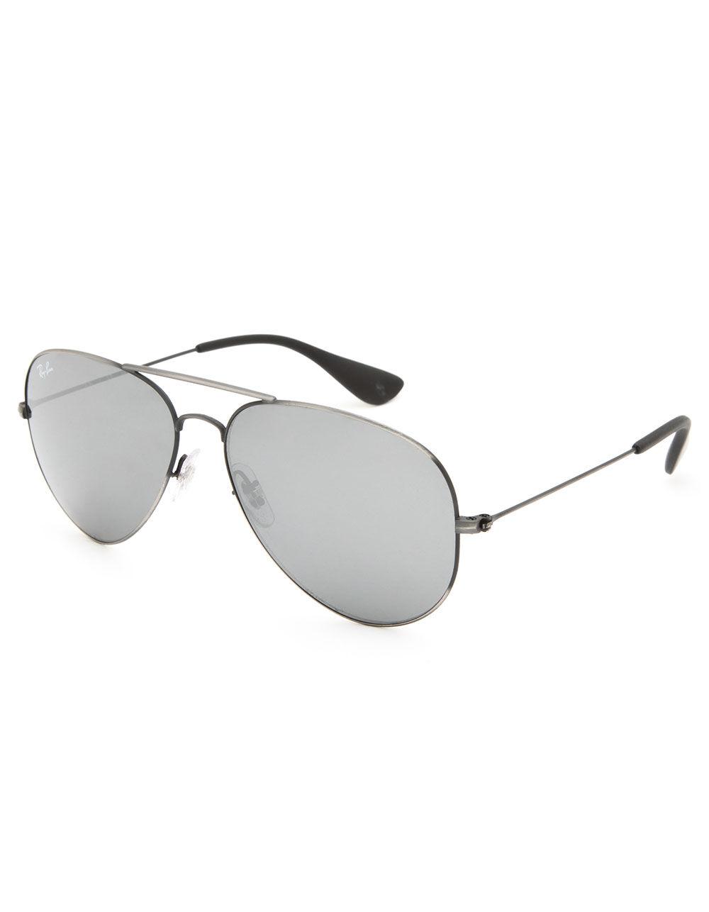 RAY-BAN Aviator Antique Black Sunglasses