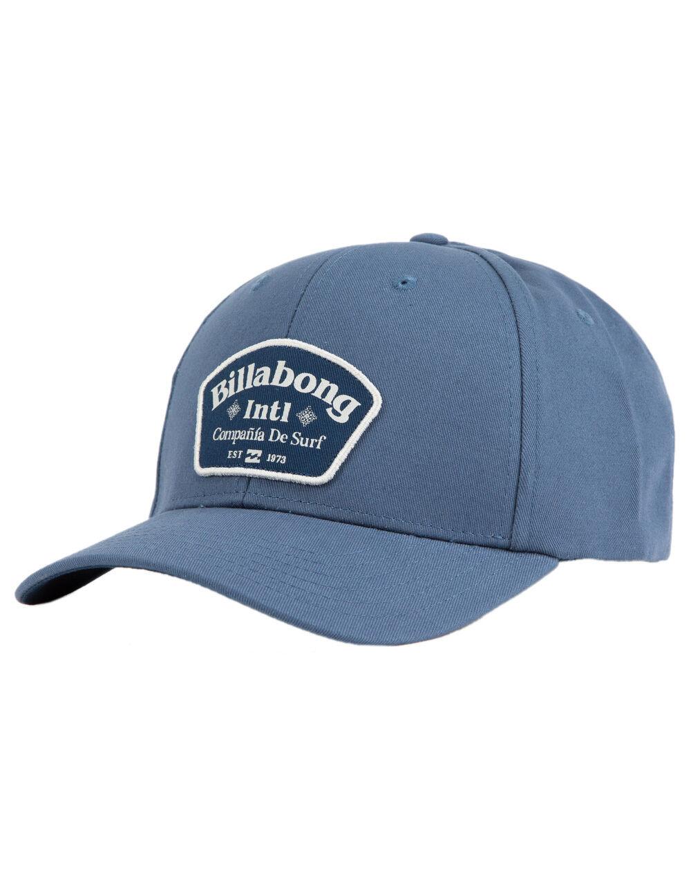 BILLABONG WALLED BLUE SNAPBACK HAT