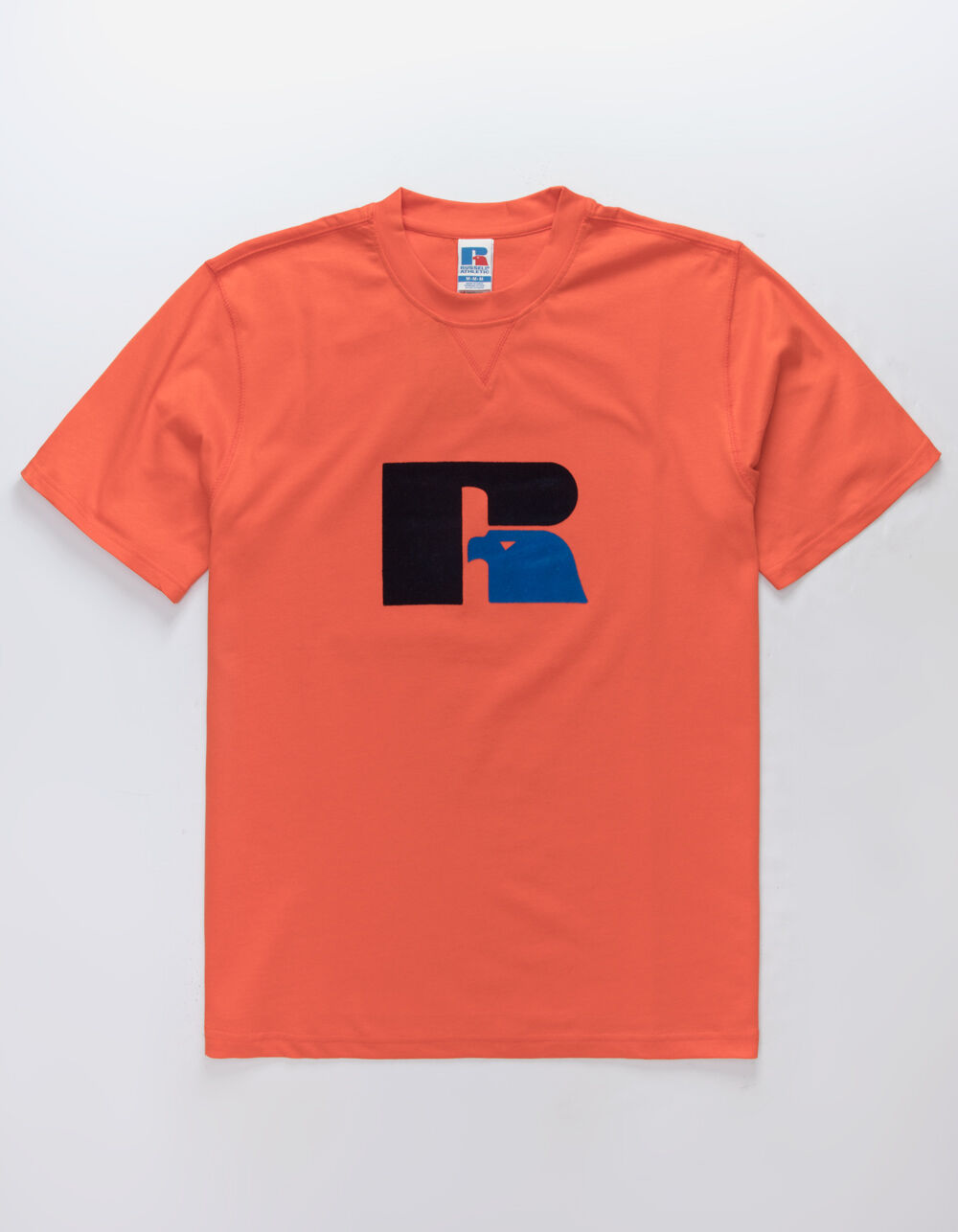 RUSSELL ATHLETIC Jerry Flock Orange T-Shirt