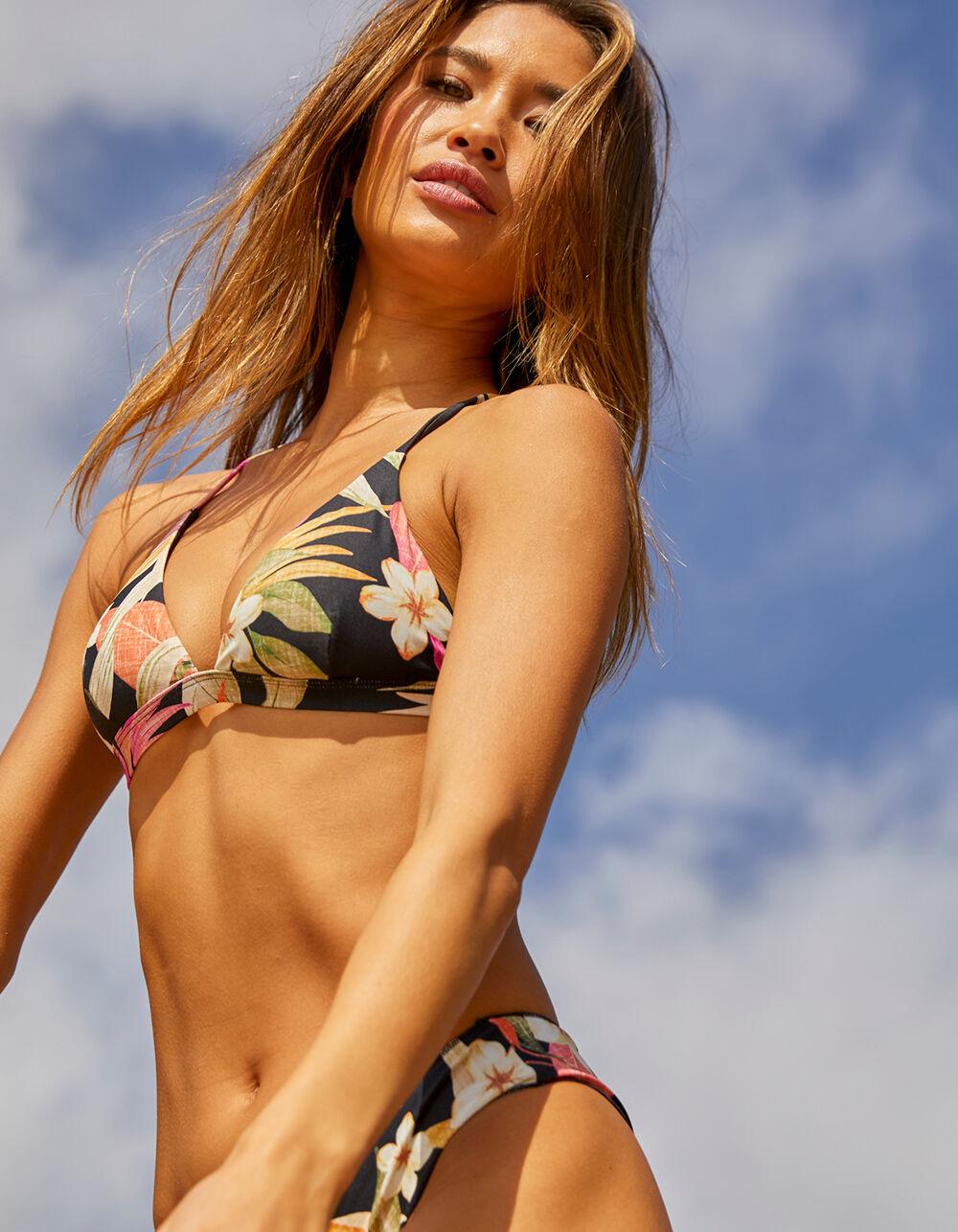 RIP CURL North Shore Cross Back Triangle Bikini Top