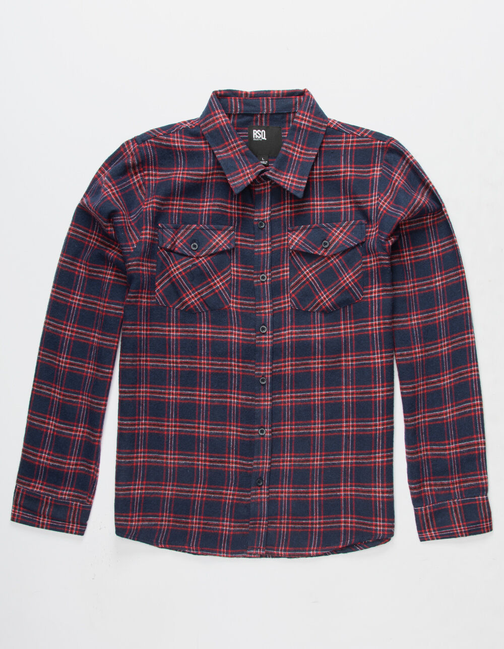 RSQ Mead Boys Flannel Shirt