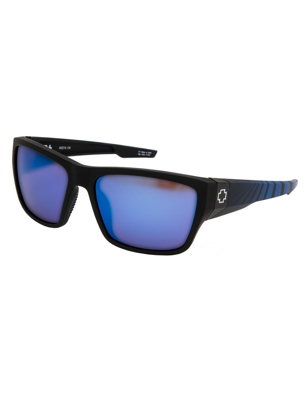 SPY Dirty Mo 2 Soft Matte Black Sunglasses