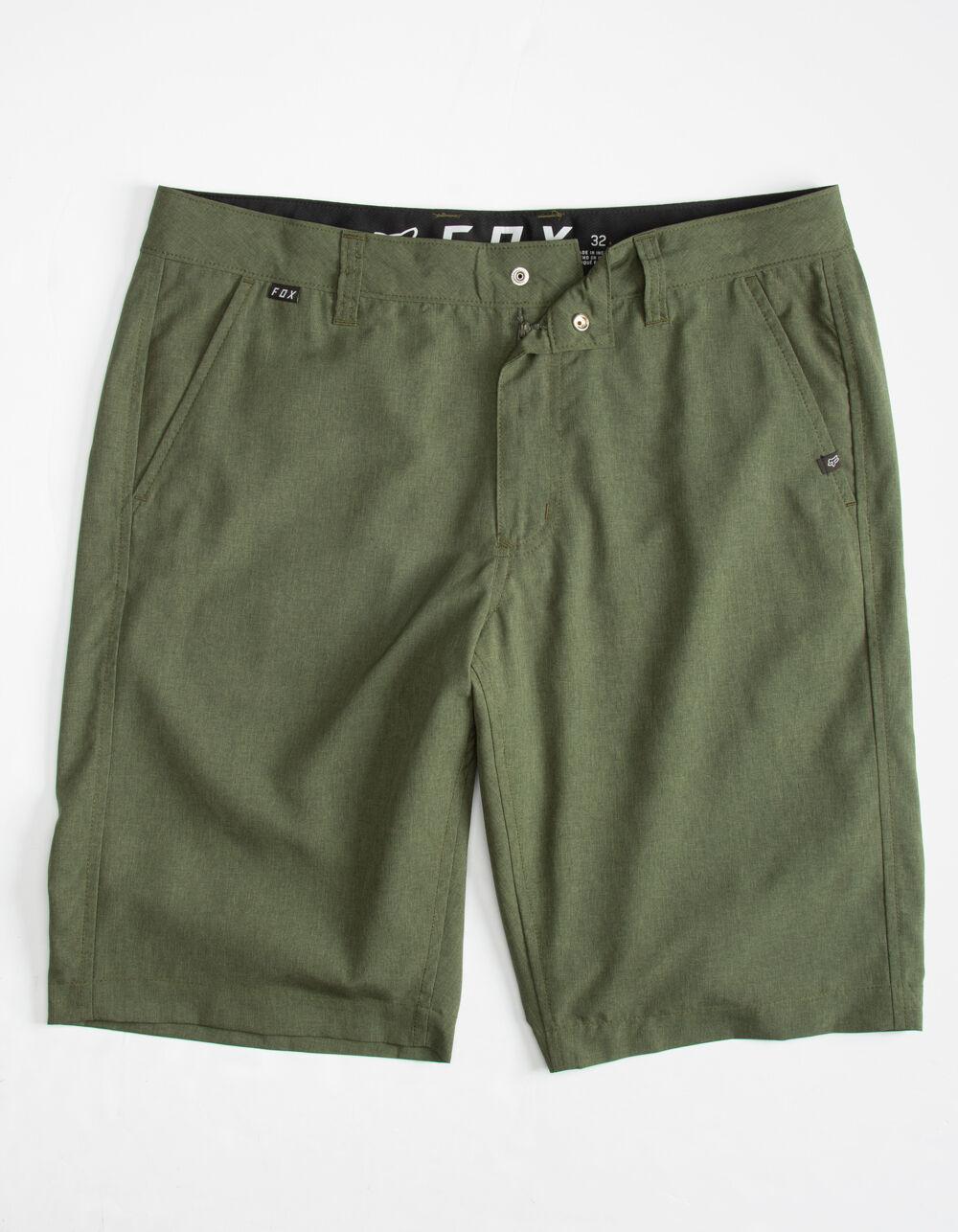 FOX Essex Tech Olive Hybrid Shorts