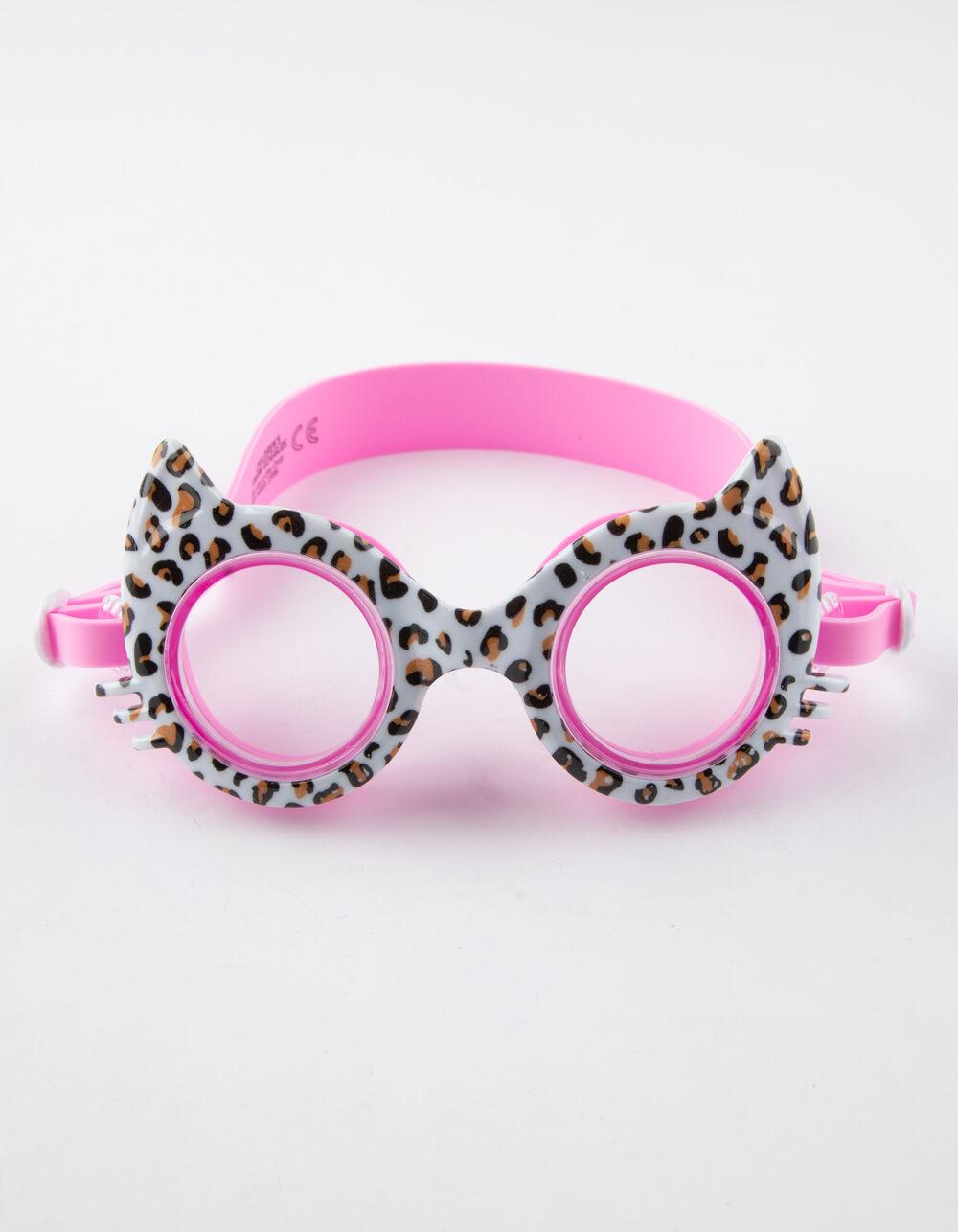 Image of AQUA2UDE Bling Cat Swim Goggles