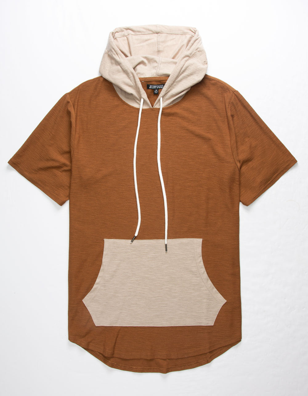 ELWOOD Color Block Hooded T-Shirt