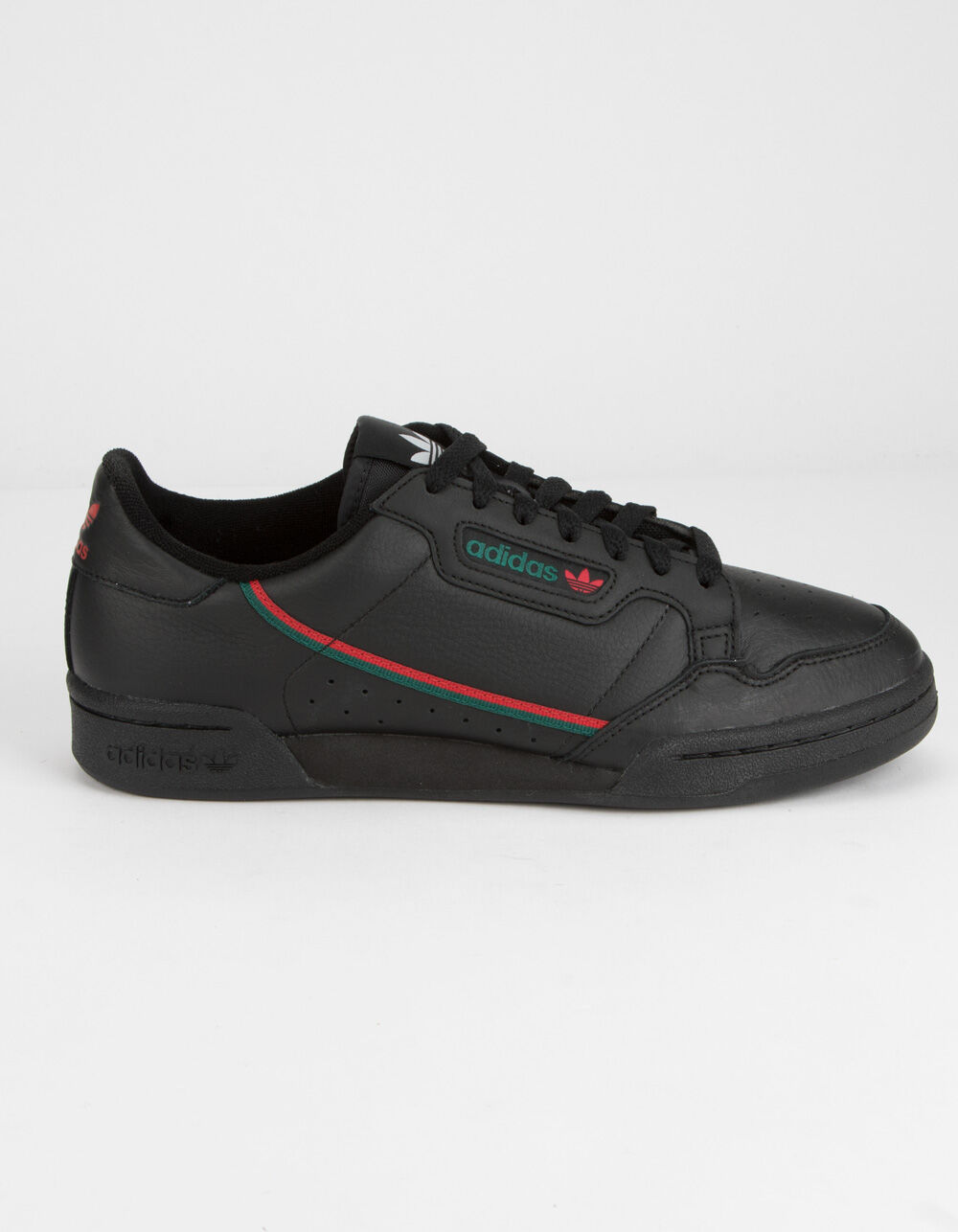 ADIDAS Continental 80 Core Black & Scarlet Shoes