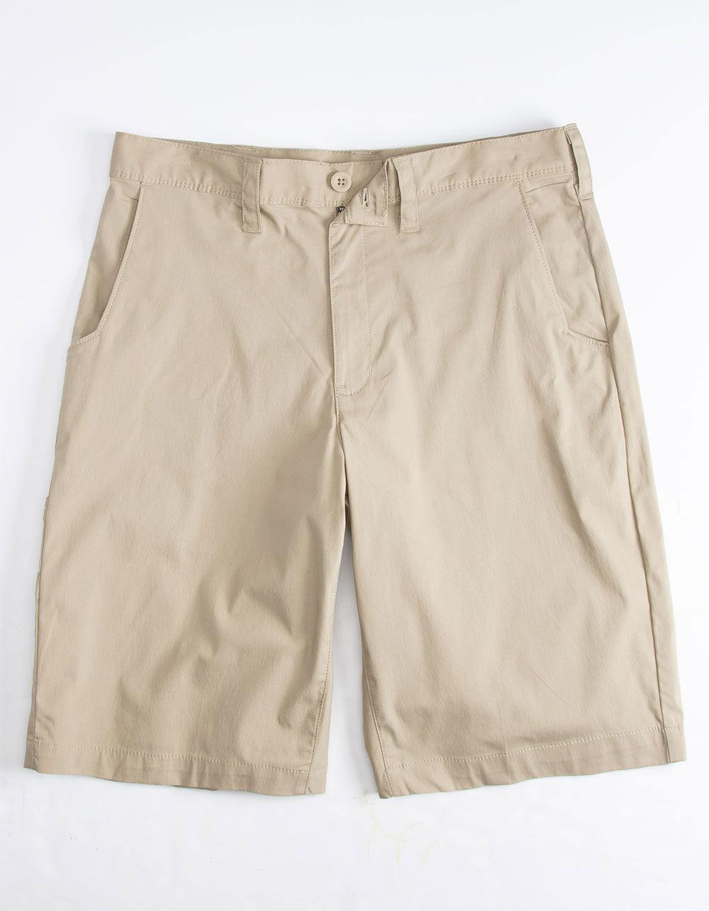 DICKIES Khaki Hybrid Shorts