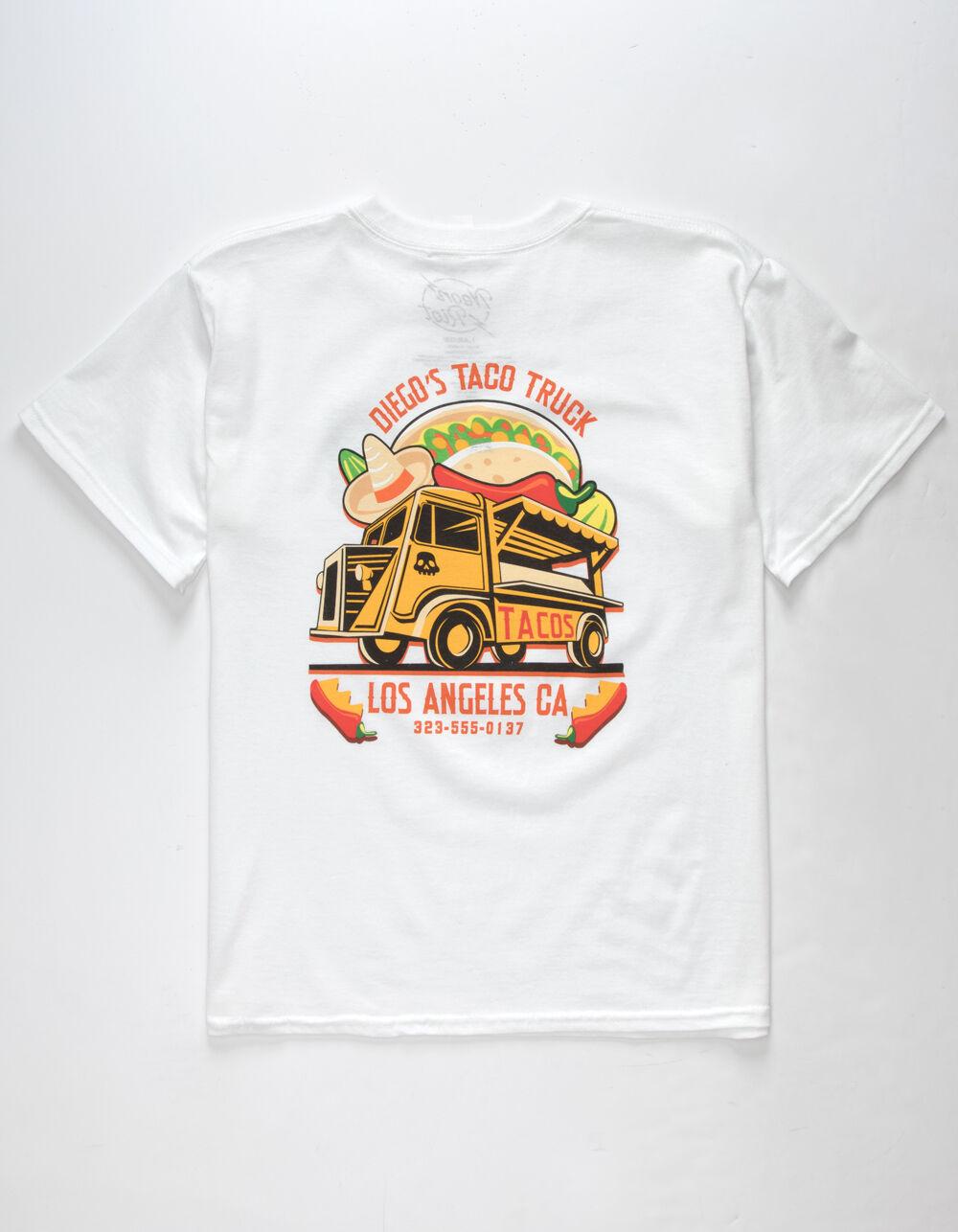 NEON RIOT Diego's Taco Truck Boys T-Shirt