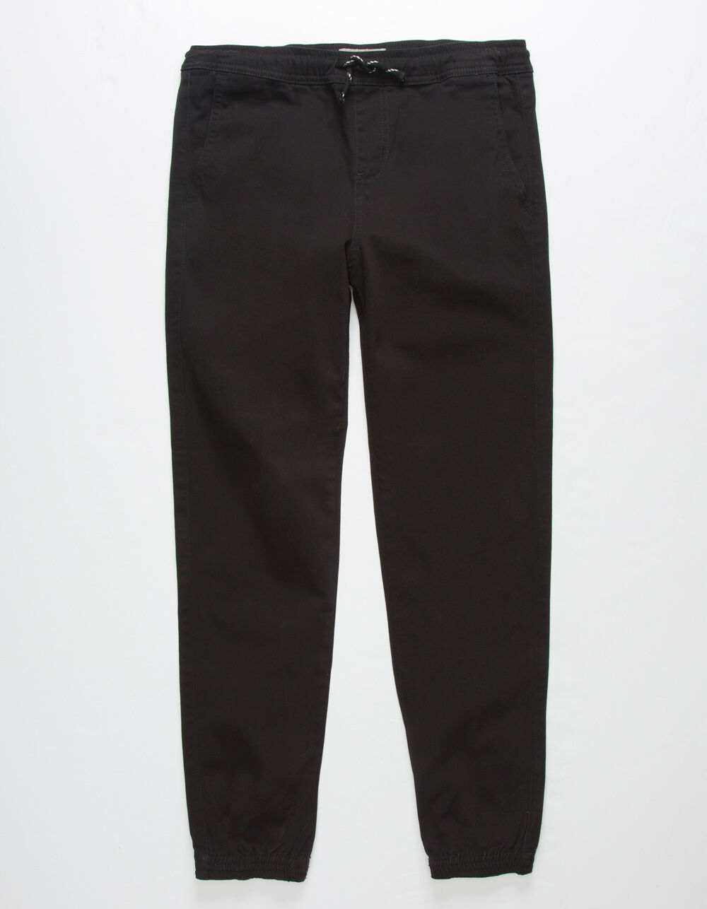 CHARLES AND A HALF Classic Black Boys Jogger Pants