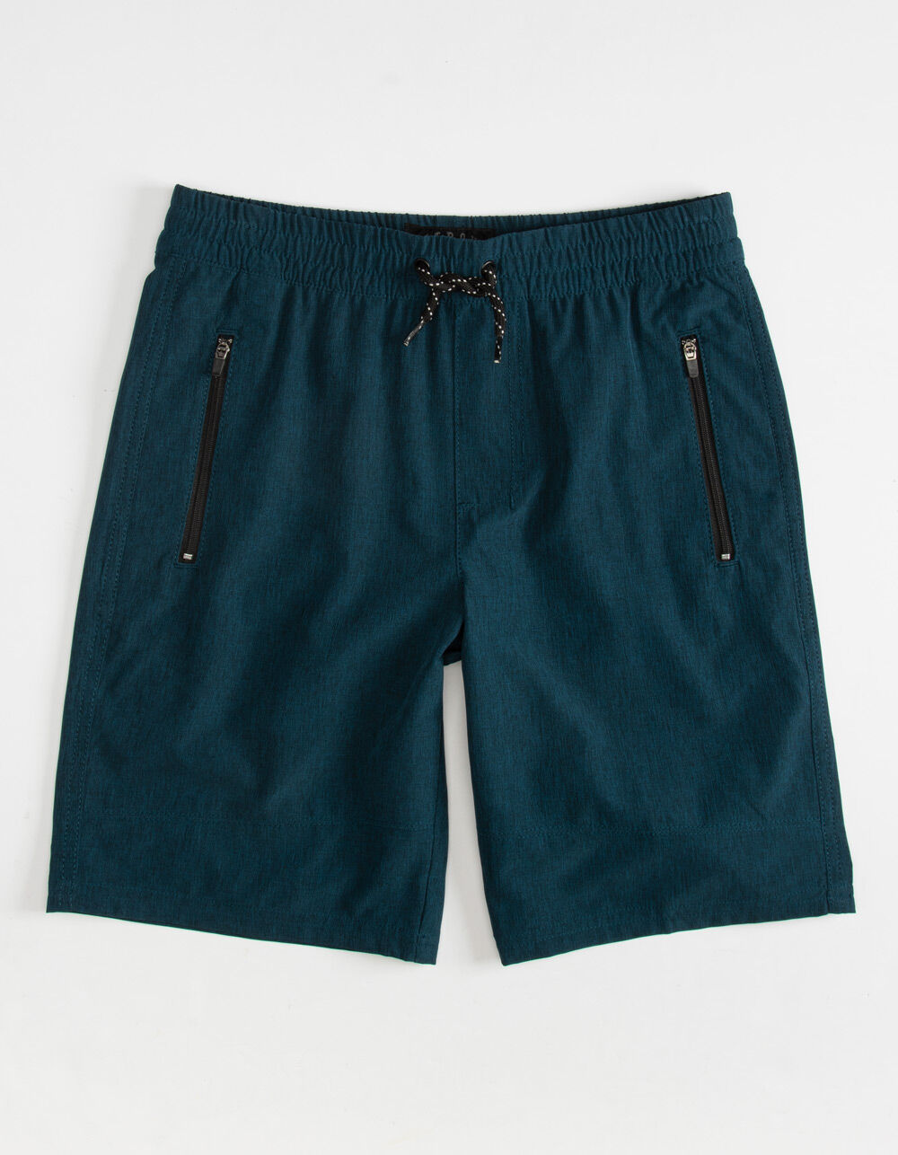 NITROUS BLACK Pull On Boys Navy Hybrid Shorts