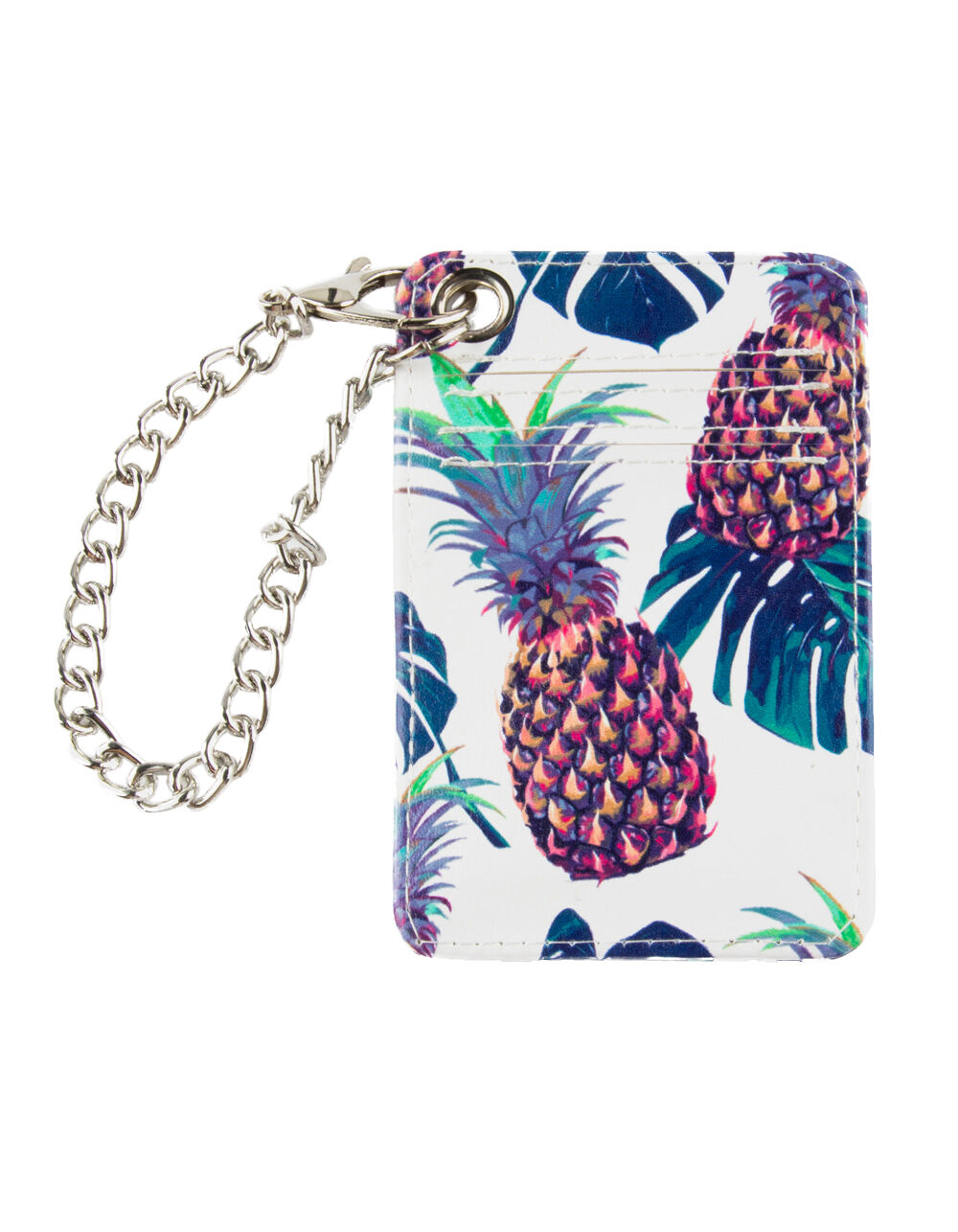 VIOLET RAY PINEAPPLE & PALM CARDHOLDER