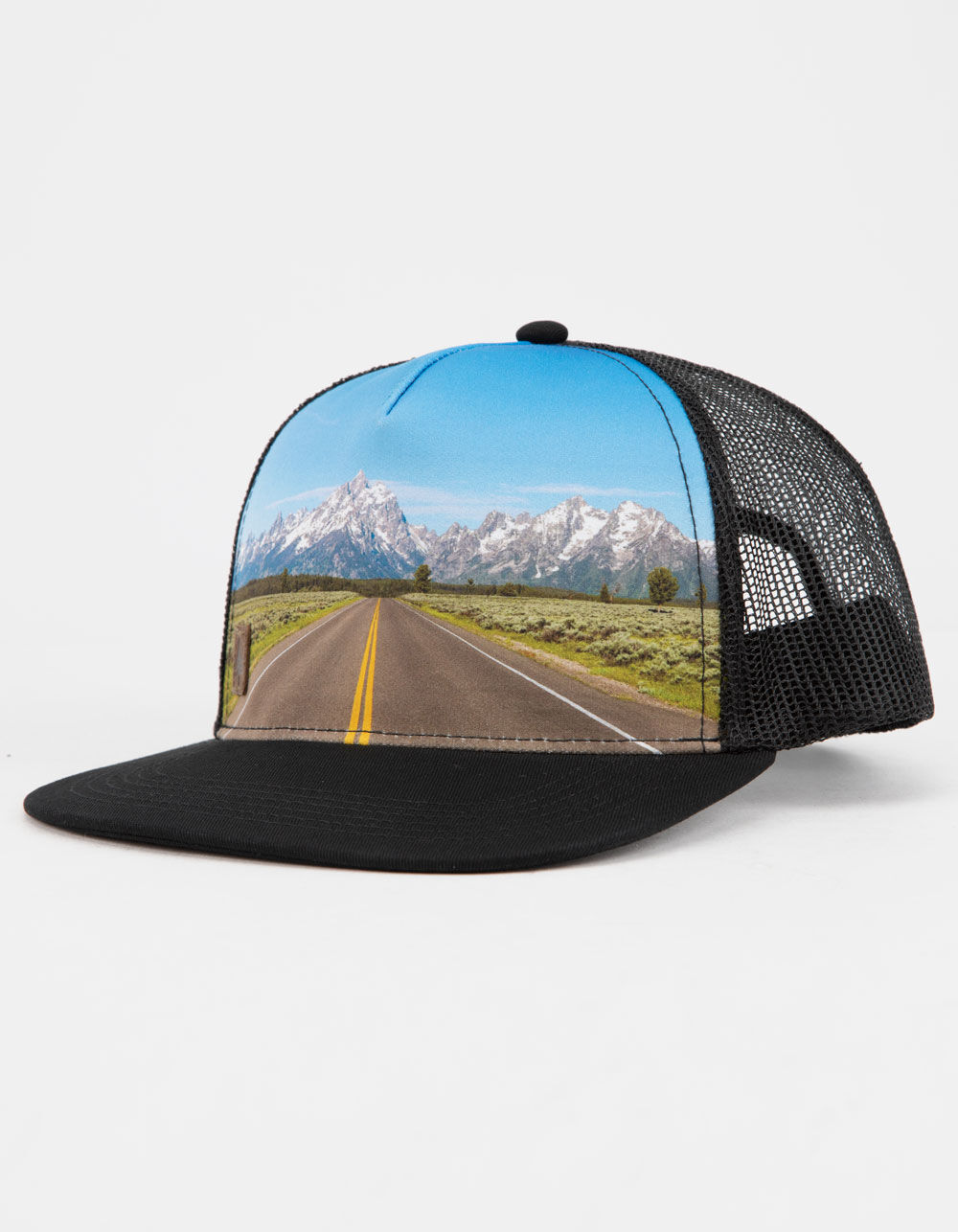 Image of HIPPYTREE Highway Black Trucker Hat