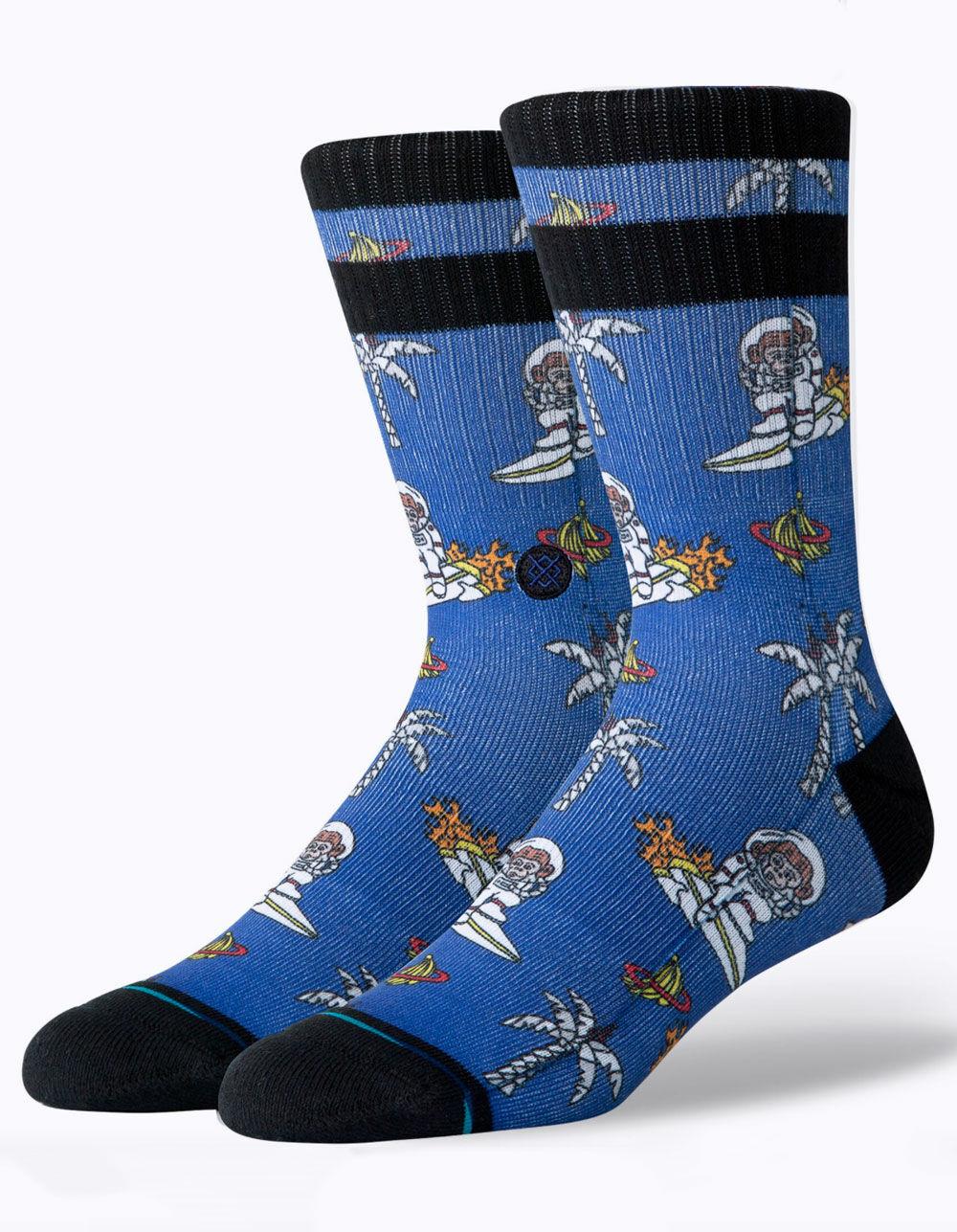 STANCE Space Monkey Crew Socks