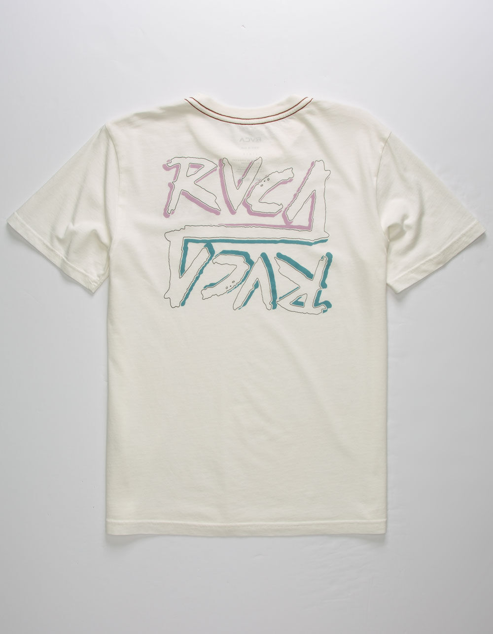 RVCA Offset Off White Boys T-Shirt