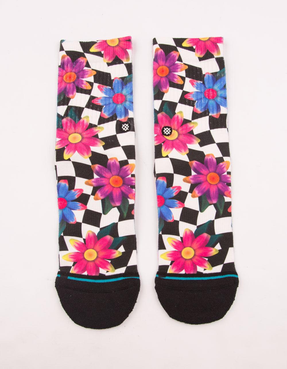 STANCE Crazy Daisy Girls Crew Socks