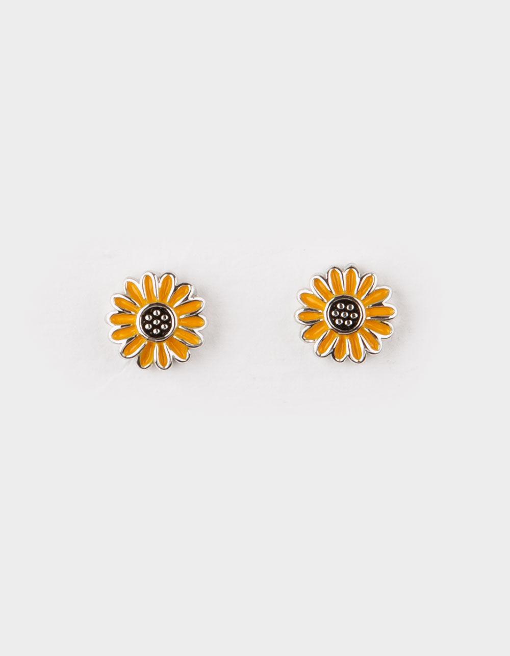 PURA VIDA Sunflower Stud Earrings